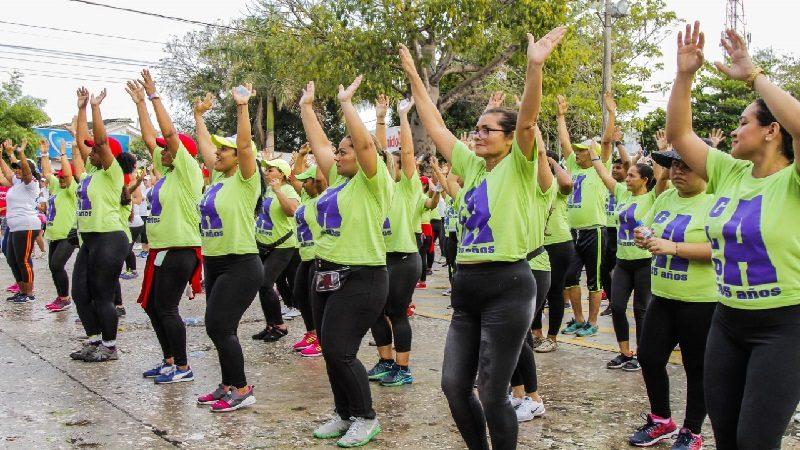 Gobernación celebró Día Mundial de la Actividad Física con 2.000 atlanticenses