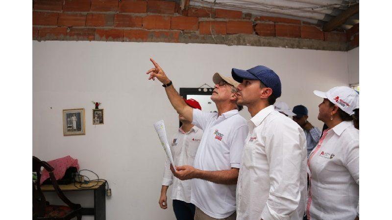Gobernación mejora 384 viviendas en el barrio Ferrocarril de Soledad