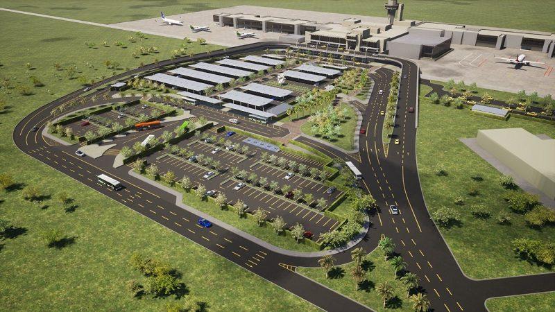 Inician obras de adecuación del nuevo parqueadero del Aeropuerto Ernesto Cortissoz