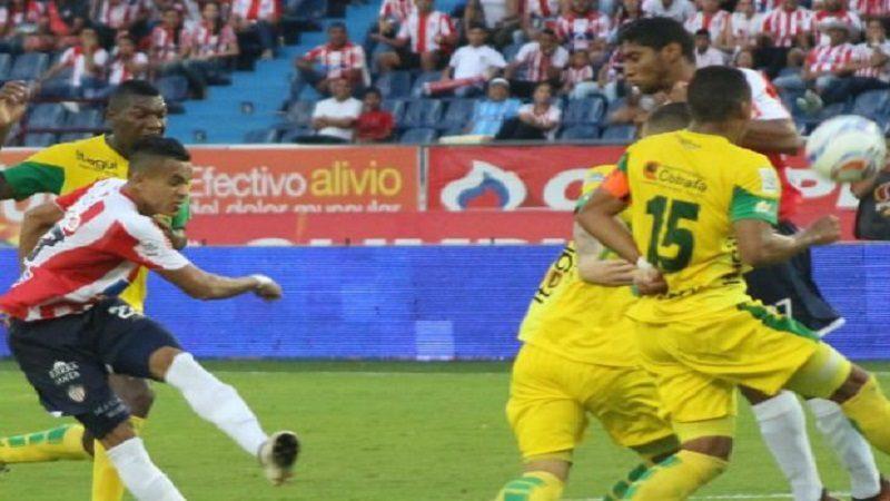 Junior venció 1-0 a Leones, en el Metropolitano