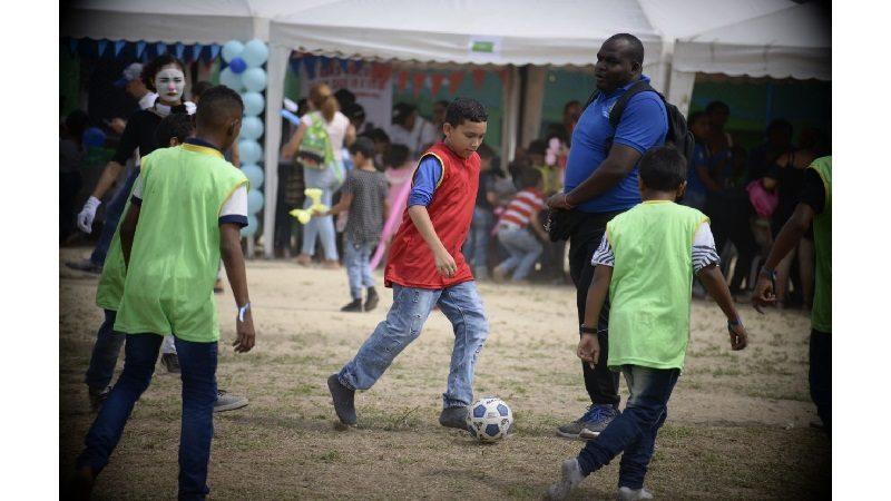 Más de 10 mil niños de Soledad disfrutaron de actividades recreativas y deportivas durante su mes