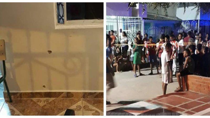 Muere sobrina de 'Teo' Gutiérrez en medio de balacera, cuando veían partido del Junior