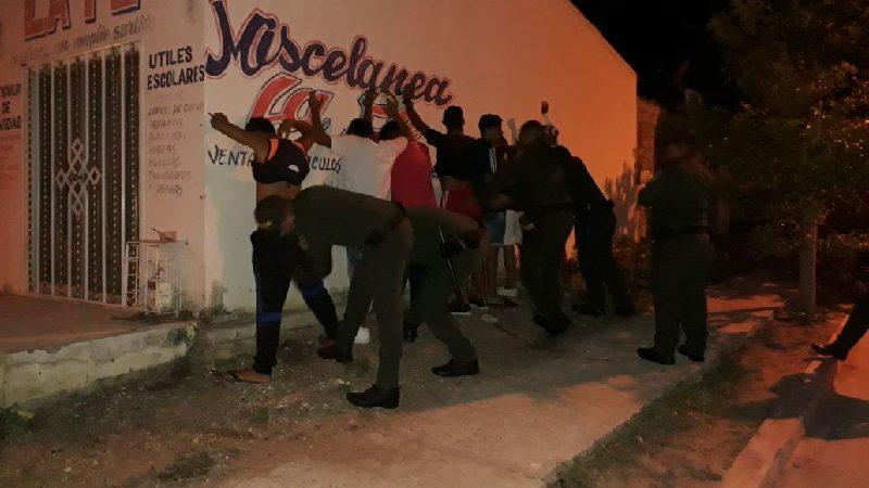 Policía captura a 18 personas por diferentes delitos, en el inicio del fin de semana en Barranquilla