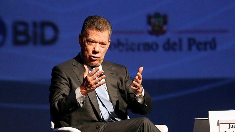Presidente Santos dice que el pueblo venezolano se muere físicamente de hambre