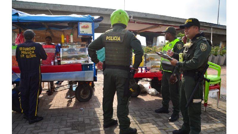 Recuperan espacio público en alrededores de centro comercial Plaza del Sol, en Soledad
