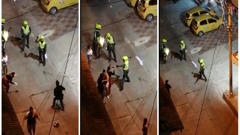 Separan de sus cargos a policías que agredieron a mujer en el Centro
