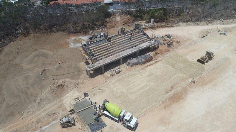 A buen ritmo avanza construcción de pista BMX Barranquilla, para los Centroamericanos 2018