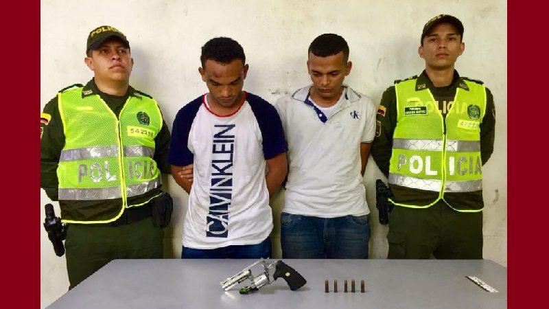 Asaltan Davivienda de la calle 70 con 52 y Policía los captura