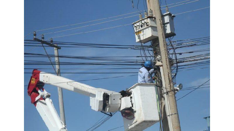 Avanza construcción del circuito eléctrico de la Villa Olímpica