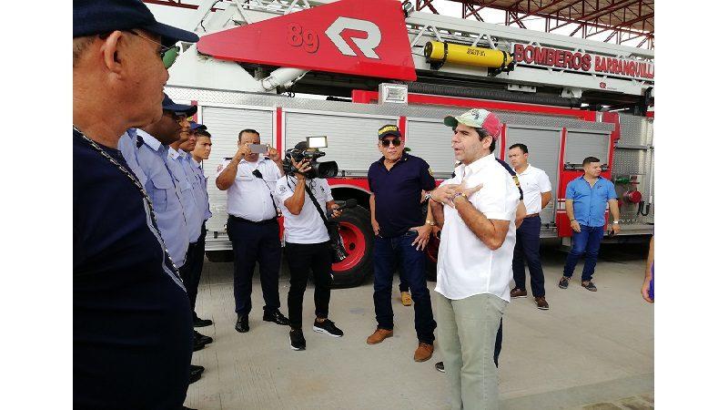 Barranquilla tiene una nueva estación de Bomberos en el barrio El Edén ok