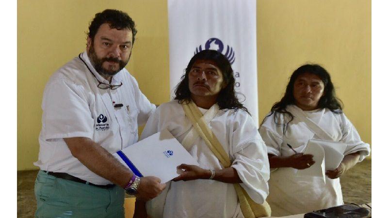 Defensoría alerta sobre riesgos para poblaciones indígenas en la Sierra Nevada de Santa Marta