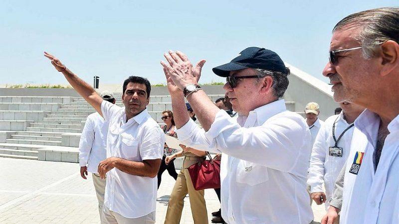 Este lunes 7 de mayo, el presidente Santos estará en Barranquilla