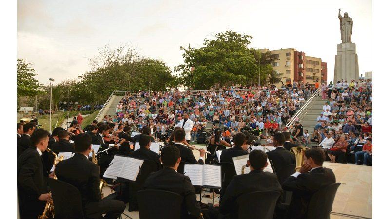 Este sábado 5 de mayo, en el parque Sagrado Corazón, sinfónica sonará clásicos colombianos