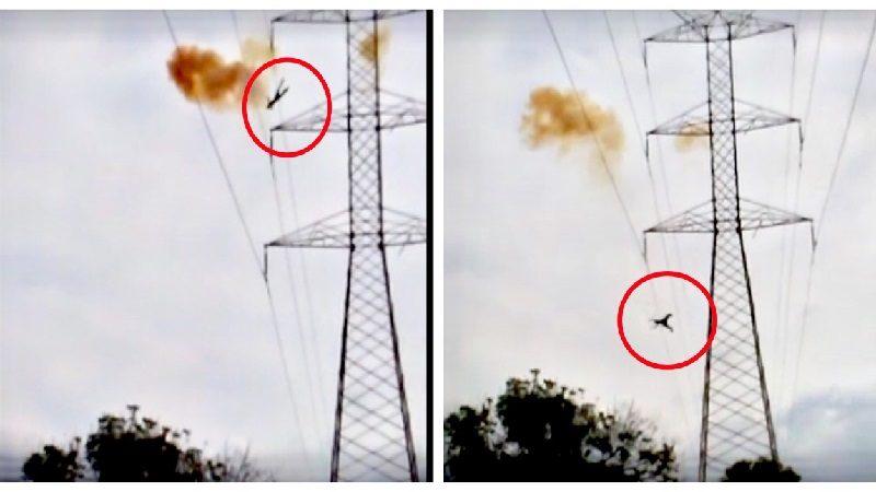 Joven se electrocuta en torre de alta tensión, en el barrio Los Olivos