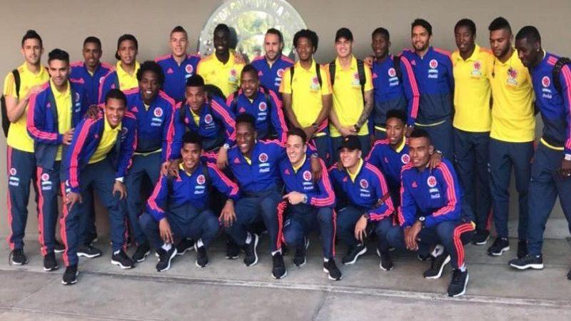 La selección Colombia ya está en Milanello, Italia