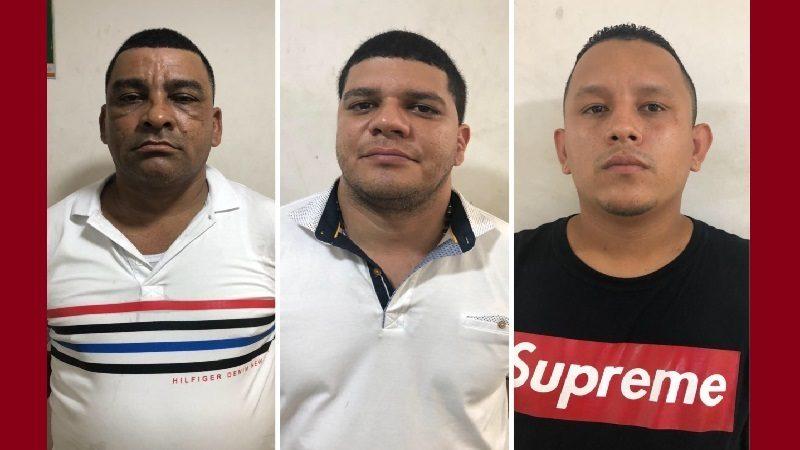 Los tres capturados por asesinato de mujer de 60 años tienen anotaciones judiciales ok