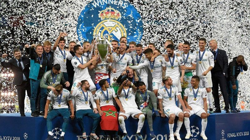 Real Madrid, campeón de la Champions League, tras vencer 3-1 al Liverpool