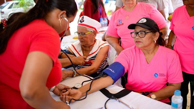 Salutón benefició a 6 barrios afectados por lluvias en Soledad