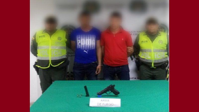 Se robaron un motocarro en Baranoa y cuando huían los capturó la Policía