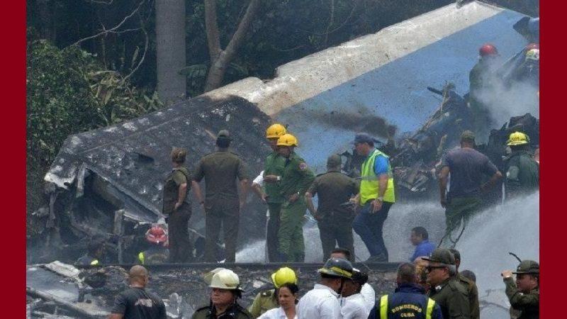 Sube a 110 cifra de muertos en accidente aéreo en Cuba