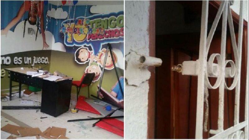 Asonada en Repelón por falta de luz, habitantes atacaron Comisaría de Familia