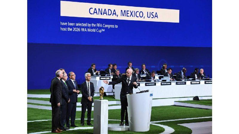 EE. UU., México y Canadá serán las sedes del Mundial 2026