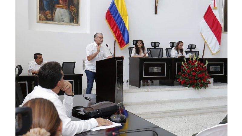 Gobernador Verano presentó 8 proyectos en inicio de sesiones ordinarias de Asamblea