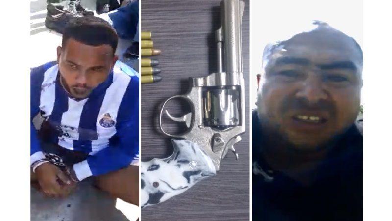 Ladrones se enfrentan tiros con policías en Barranquillita