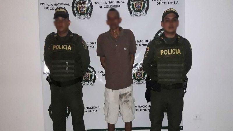 Lo capturan con 117 dosis de bazuco y 18 pastillas de Éxtasis, en Repelón