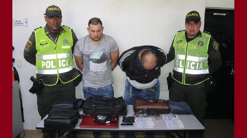 Los capturan cuando atracaban en una venta de frutas en el norte de Barranquilla