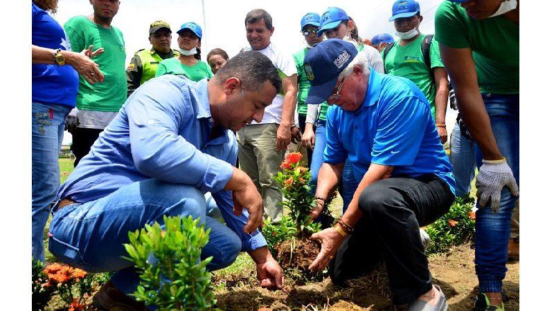 Municipio de Soledad participa en la siembra más grande de árboles en Colombia