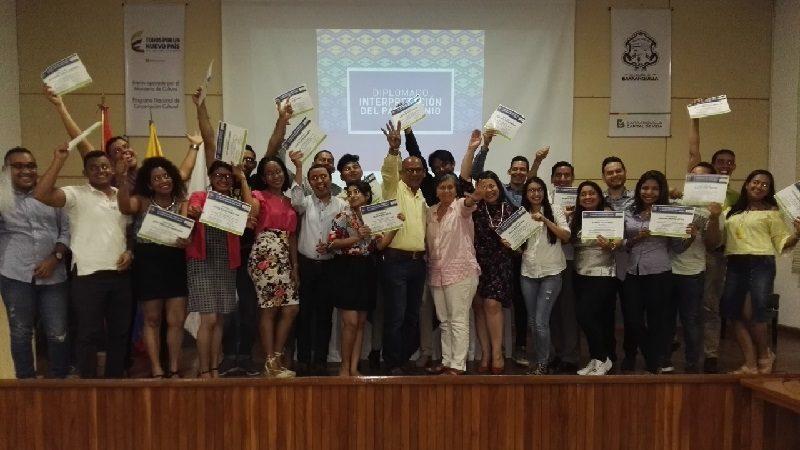 Museo del Caribe gradúa a 26 estudiantes en Diplomado de Interpretación del Patrimonio