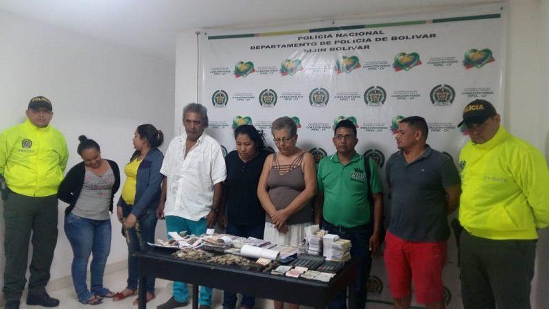 Operativos contra el chance ilegal dejan 12 personas capturadas en Cartagena