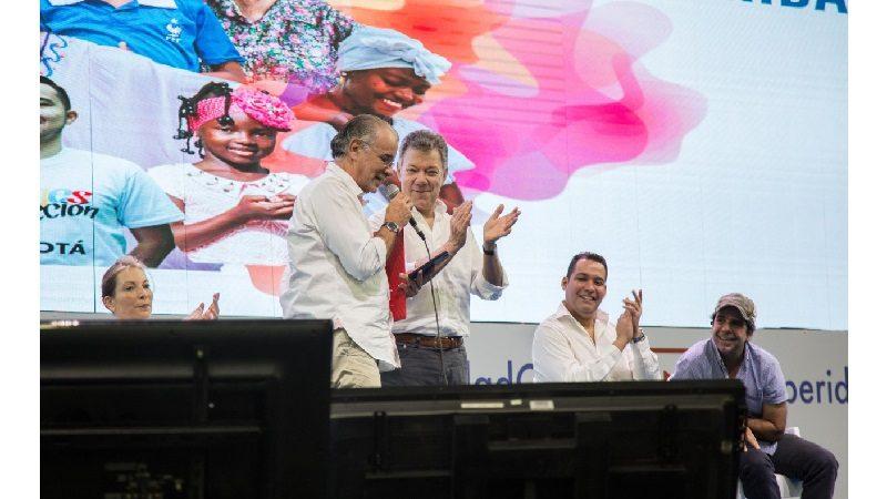 Presidente Santos resalta impulso a la economía naranja en Atlántico