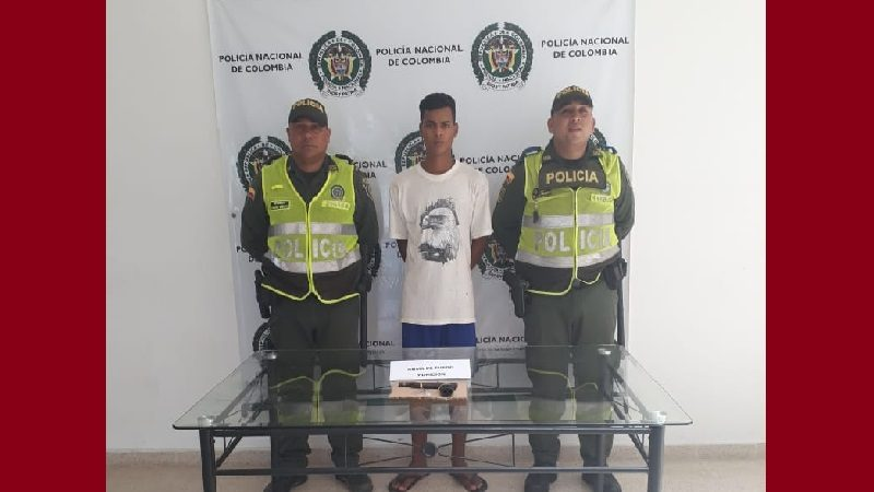 Capturan a venezolano armado con un revólver, en Palmar de Varela