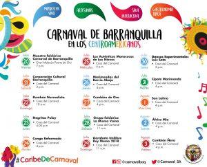 Carnaval de Barranquilla presenta agenda festiva para los Juegos Centroamericanos y del Caribe1