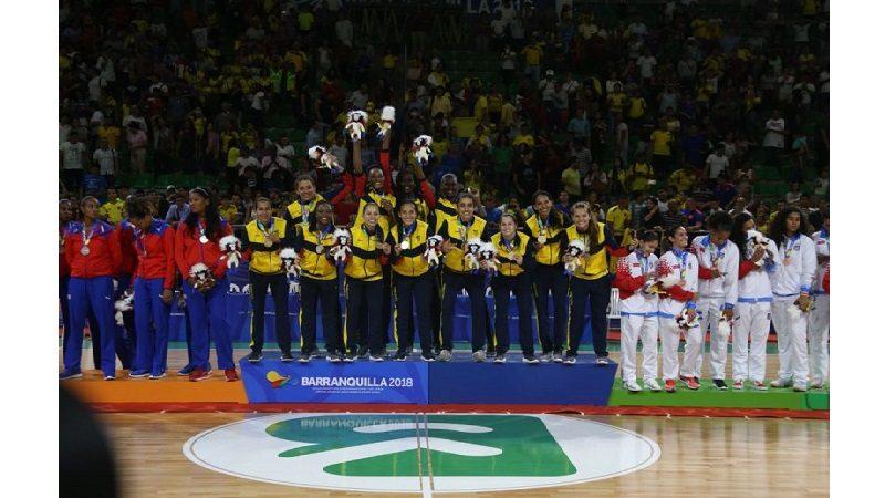 Colombia gana oro en baloncesto femenino, tras vencer a Cuba