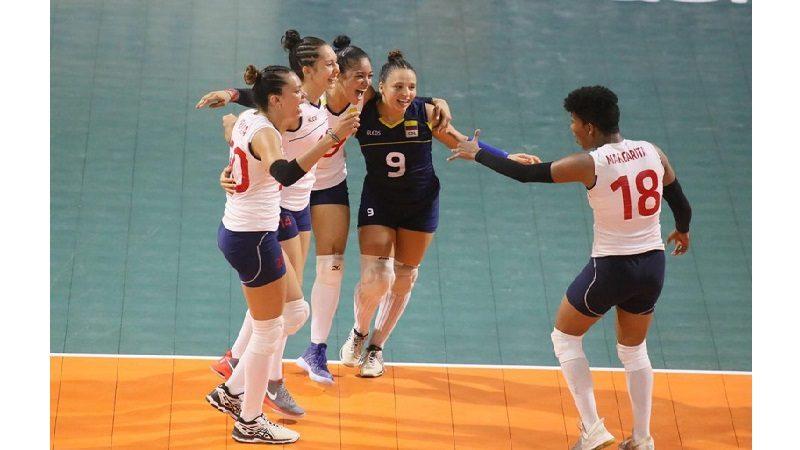Colombia se mete en las semifinales de Voleibol
