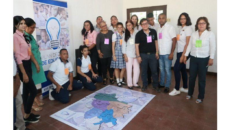Con realización de preforos, avanza Plan Decenal de Educación en Soledad
