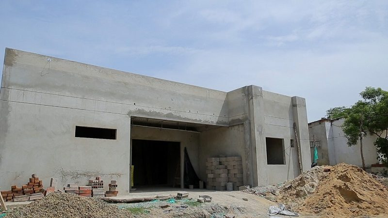Construcción del centro de salud de La Peña registra 60% de avance
