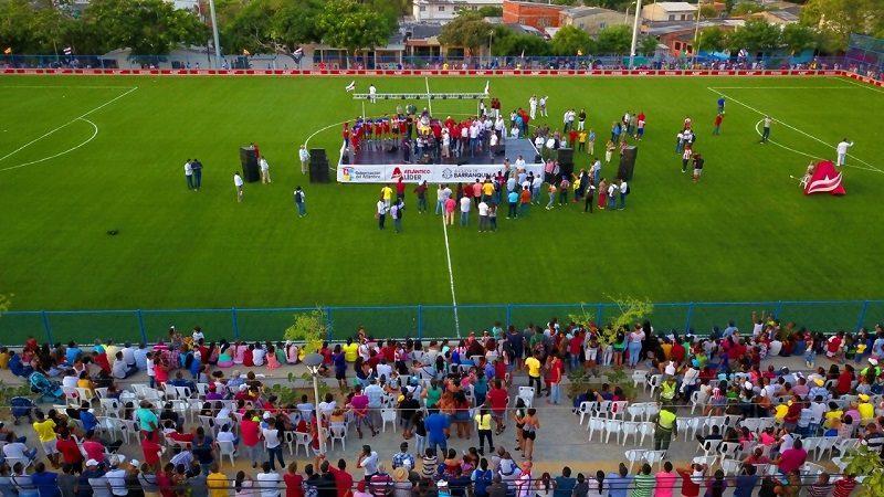 Corregimiento La Playa estrena megacancha deportiva que costó más de $2 mil millones