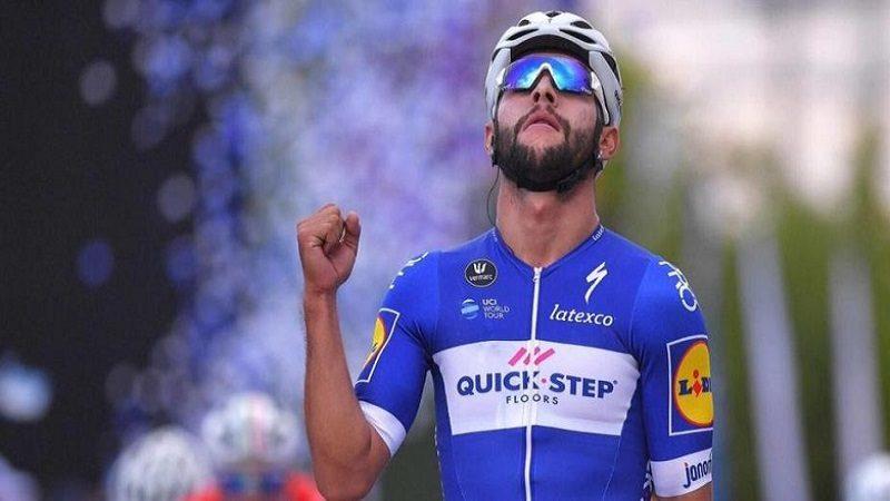 Fernando Gaviria, primer líder del Tour de Francia 2018