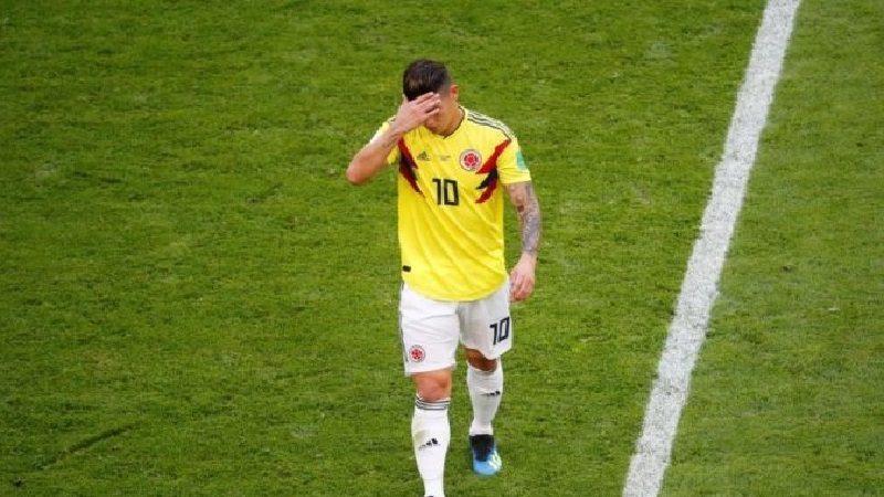 James Rodríguez tendría rotura fibrilar, dice prensa en España