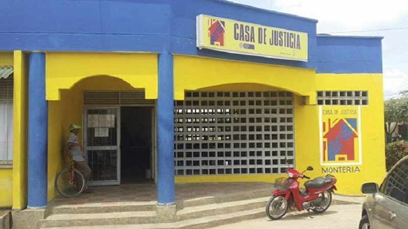 Ministerio de Justicia destaca gestión de Casa de Justicia de Montería ok