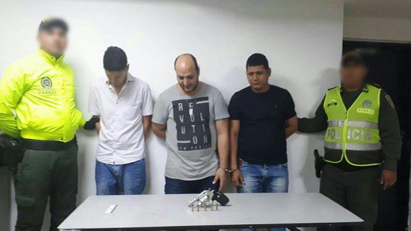 Otra vez capturan a 'Fabio El Iraquíe', ahora con un revólver en el norte de Barranquilla