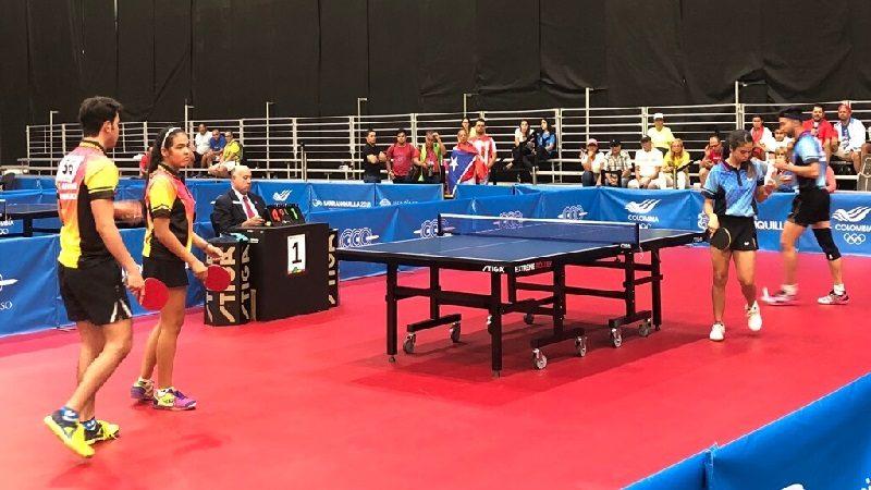 Puerto Rico, campeón en tenis de mesa en rama femenina