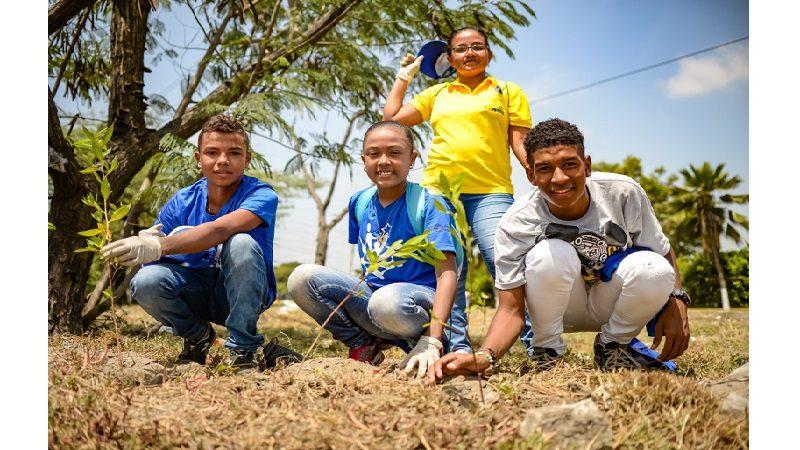 Siembran otros 2.162 árboles en diferentes zonas del municipio de Soledad