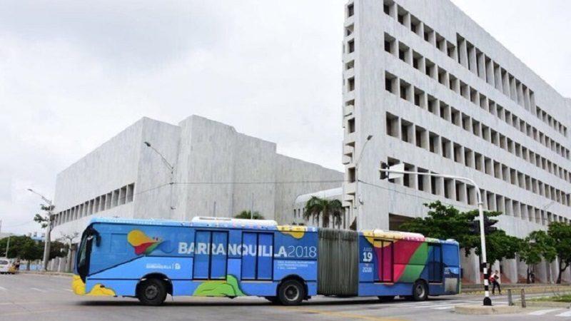 Transmetro, el transporte oficial de los Juegos Centroamericanos y del Caribe Barranquilla 2018