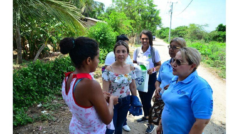 Bloque de búsqueda contra la desnutrición infantil en Soledad llegó a Cabica