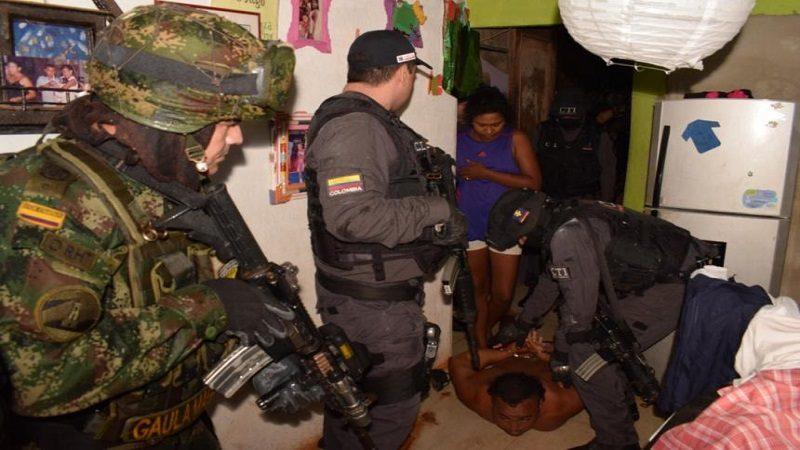Caen 10 integrantes de los Pachenca dedicados a extorsión y al 'gota a gota', en Santa Marta